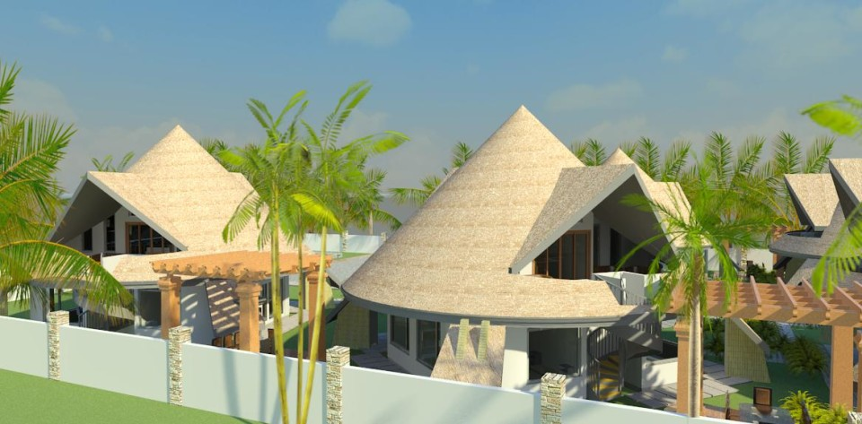 design of cottages in Kenya, architect